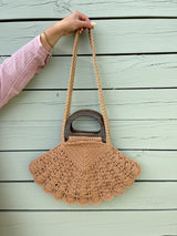 Shell Macrame Bag