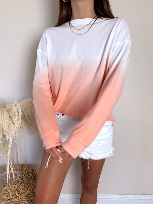 Pink Ombre top