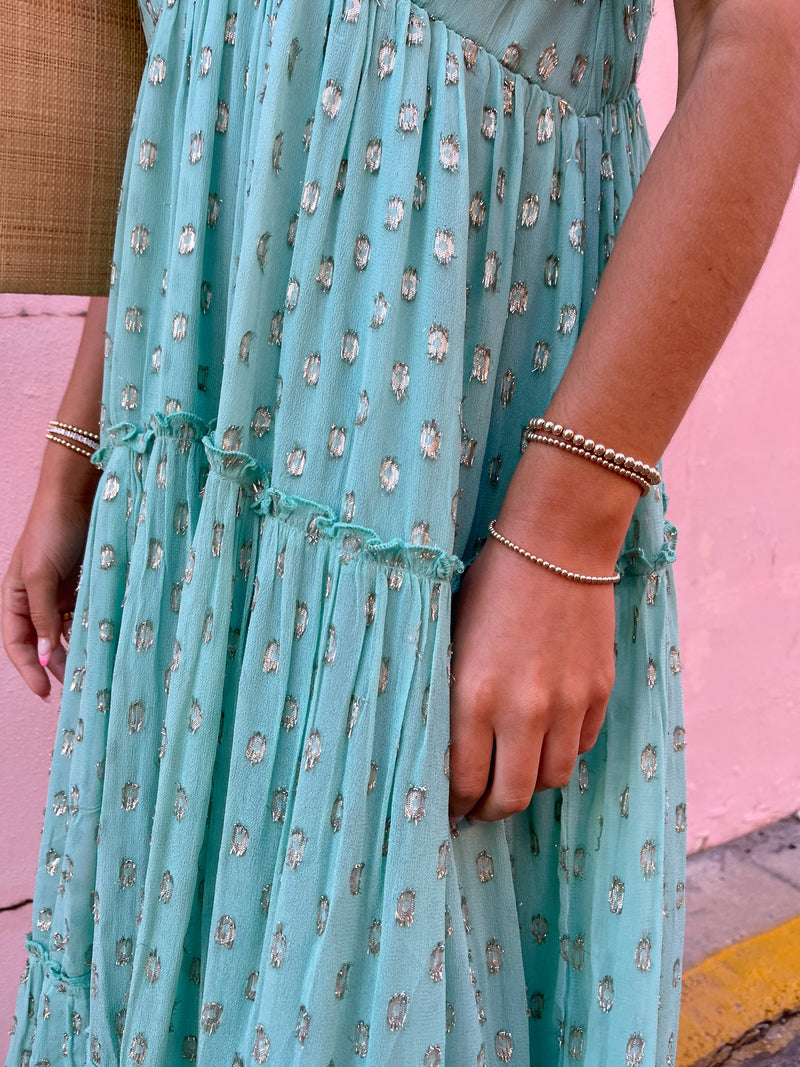 Wonderlust Tiered Boho Maxi Dress