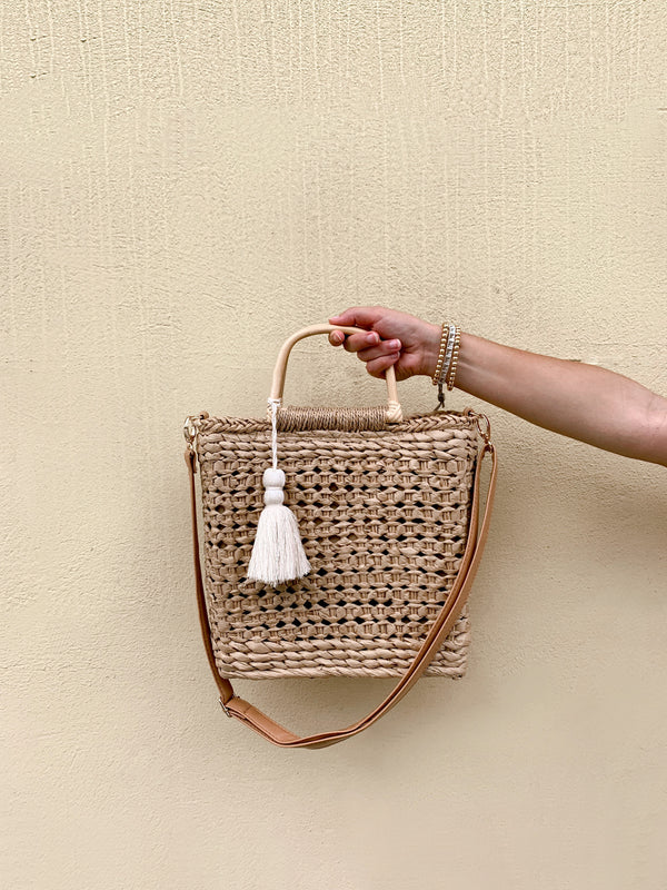 Straw Square Bag