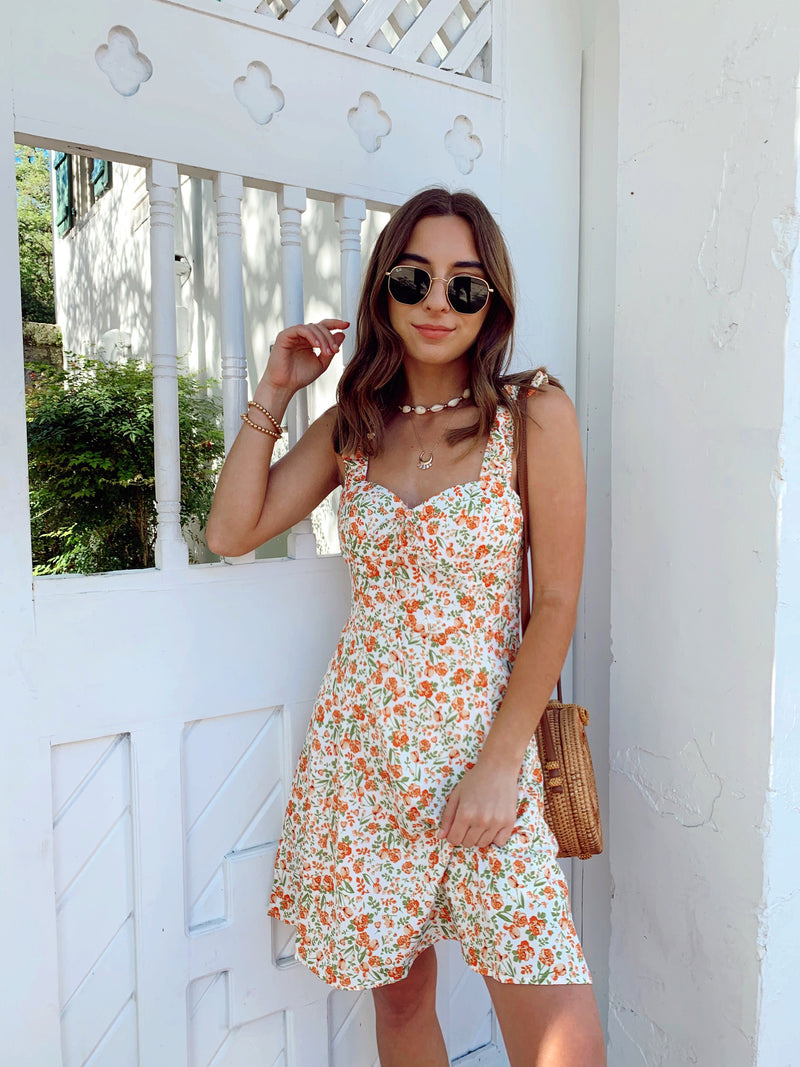 Sunday Best Floral Mini Dress