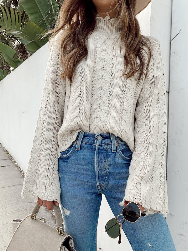 Distressed to Impress Sweater