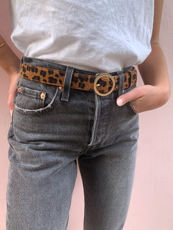 Wild At Heart Leopard Belt