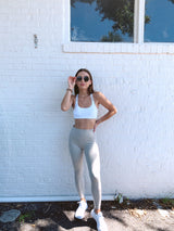 womens neutral seamless leggings