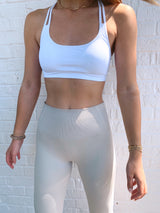 womens activewear leggings in neutral
