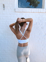 womens neutral activewear set