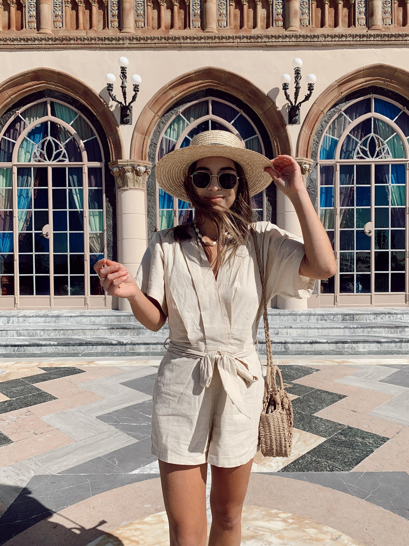 beige playsuit, beige kimono jumpsuit, beige jumpsuit, trendy jumpsuit, trendy boho jumpsuit, trendy playsuit, summer playsuit, summer jumpsuit, summer style
