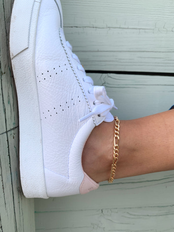 womens gold chain anklet