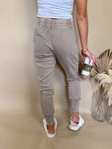 womens light brown tight sweatpants