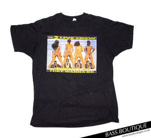 "2 Live Crew ""Me So Horny"" Vintage T-Shirt (Size XL)"
