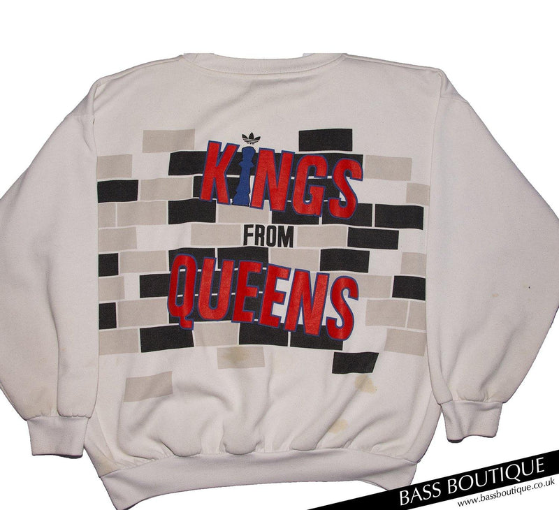 "Adidas Run DMC ""Kings from Queens"" Vintage Sweatshirt (Size XL)"