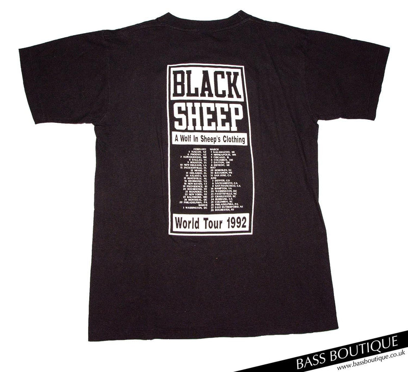 Black Sheep World Tour 92′ Vintage T-Shirt (Size L)