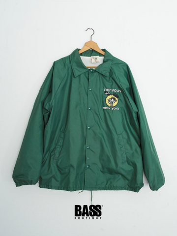 Nervous Records 1992 Vintage Rave WIndbreaker