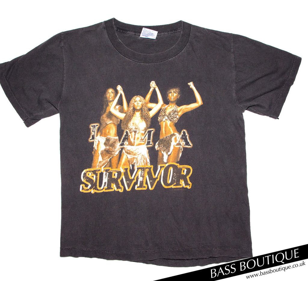"Destinys Child ""I'm a Survivor"" Vintage T-shirt (Size S)"