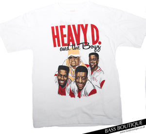 "Heavy D & The Boyz ""Living Large"" Vintage T-Shirt (Size M)"