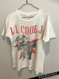 Ll Cool J x Slick Rick Panther Vintage T-Shirt (Medium)