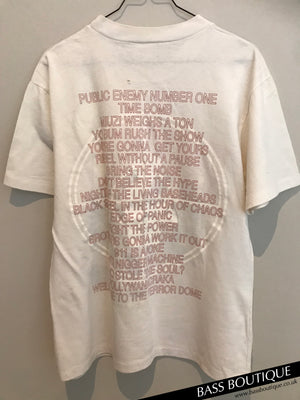 Public Enemy Welcome To The Terrordome Vintage T-shirt (L)