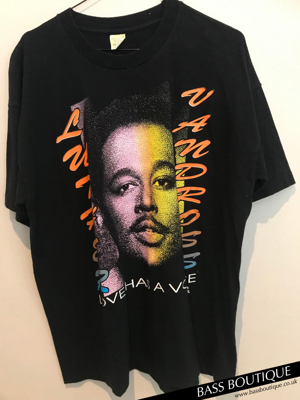Luther Vandross 'Love Has a Voice' Vintage T-Shirt (XL)