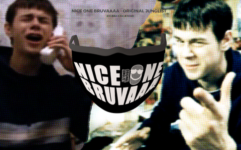 Shabba 'Nice one Bruva' Masks (50 ONLY)