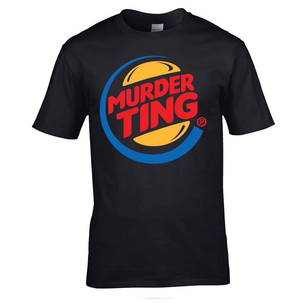 Murder Ting T-shirt (Black) SALE (Men & Women's)