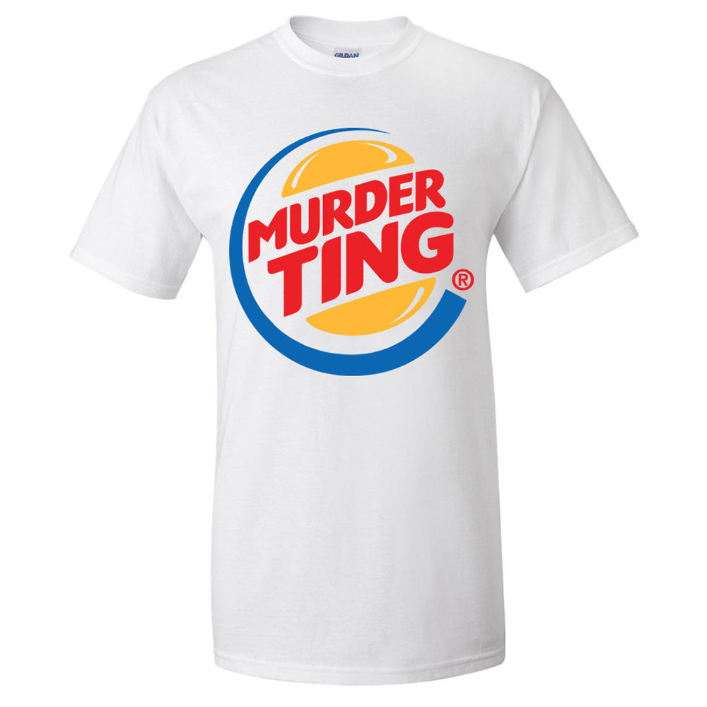 Murder Ting T-shirt (White) [SALE] (Men & Women's)