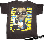 "Naughty by Nature ""Craziest"" Vintage T-shirt (Size L)"