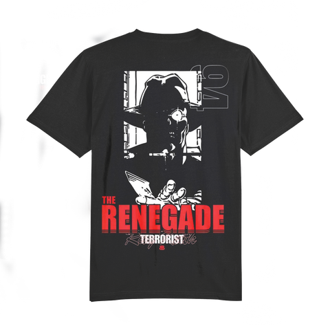 Junglist - Ray Keith Renegade Terrorist Tee (Limited edition) Last 18