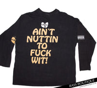"Wu-Tang Clan ""Ain't Nuttin to F Wit"" Vintage L/S T-Shirt (Size XL)"