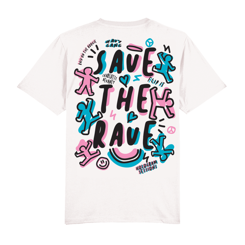 Charlotte Devaney - Save The Rave Tee (limited edition) Unisex fit