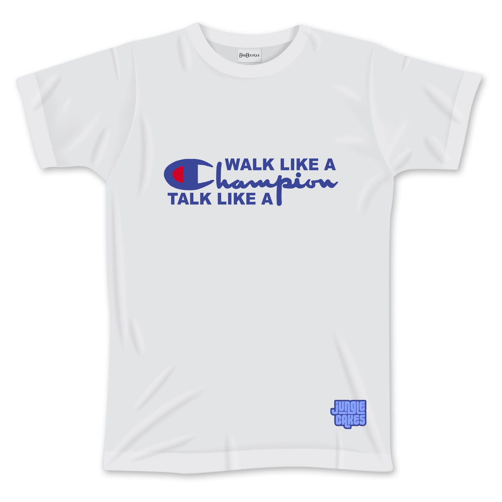 Walk like a Champion Jungle Cakes T-Shirt (NEW)