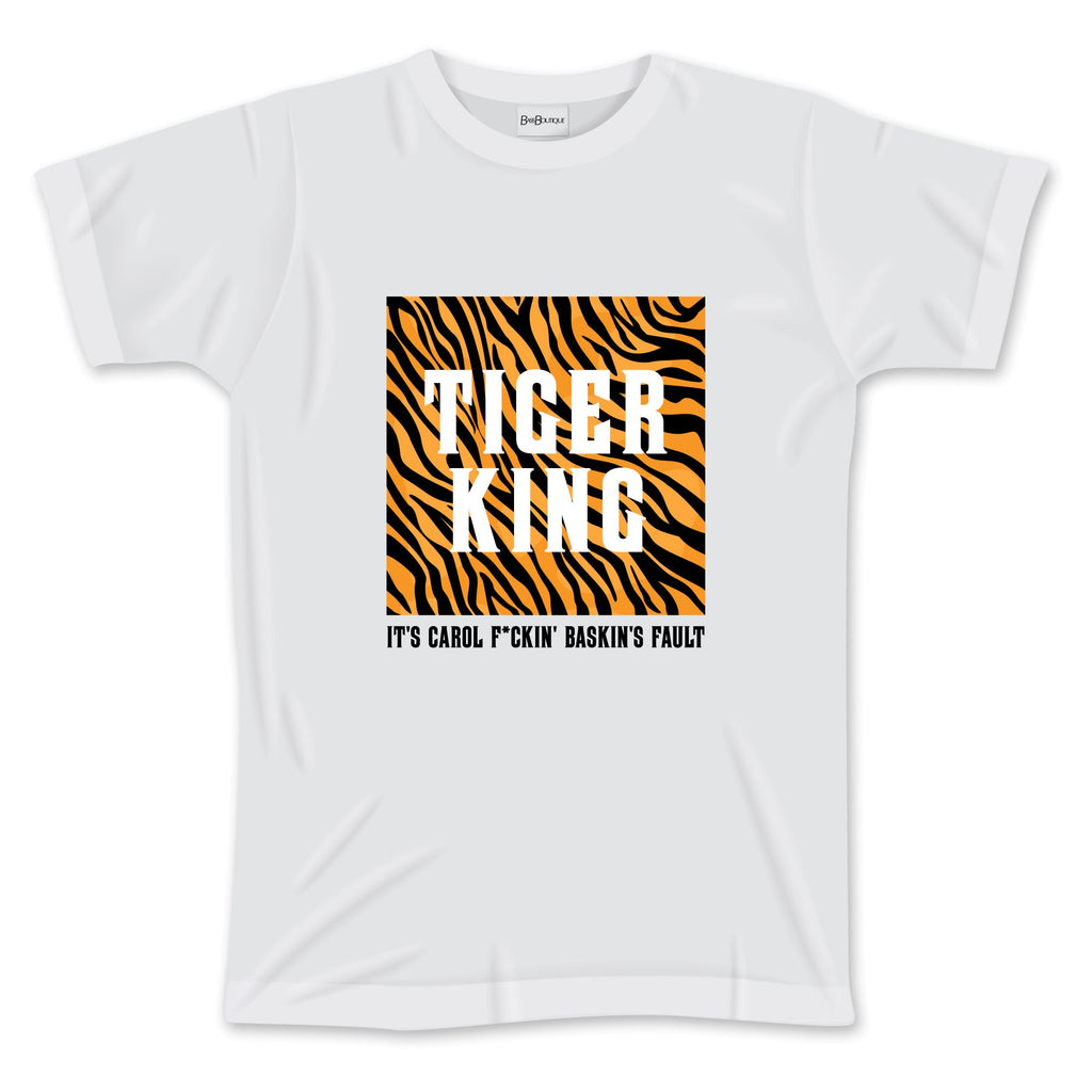 Tiger King T-Shirt (It's Carole Baskins Fault)