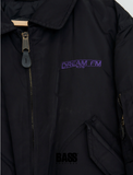 Dream FM 107.6 Vintage Rave Bomber Jacket