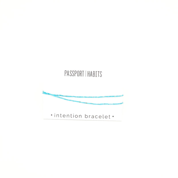 Intention Bracelet - Passport Habits