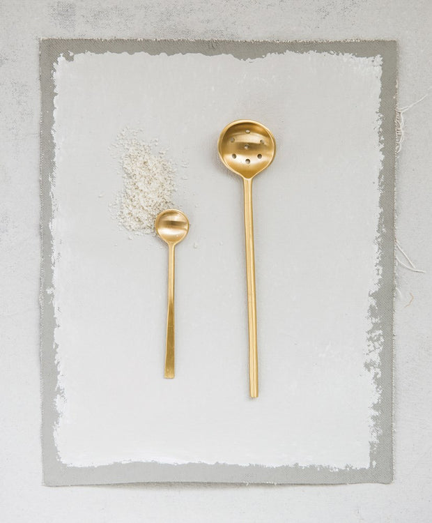 Little Brass Tapa Spoon