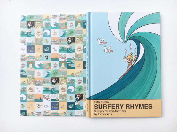 Joe Vickers Surfery Rhymes Book - Passport Habits