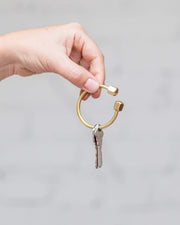 Brass Key Rings