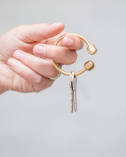 Brass Key Rings - Passport Habits