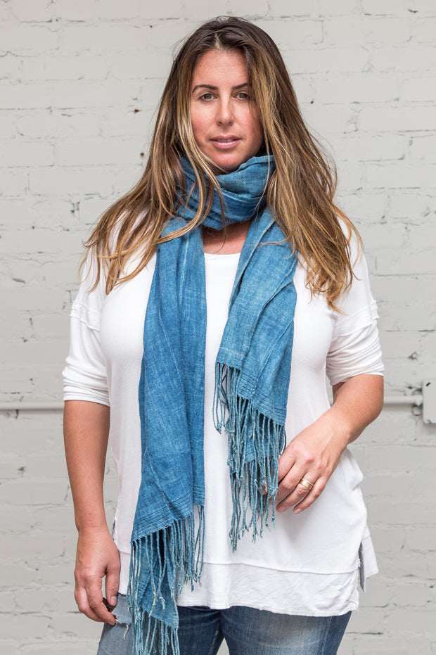 Indigo Travel Scarf