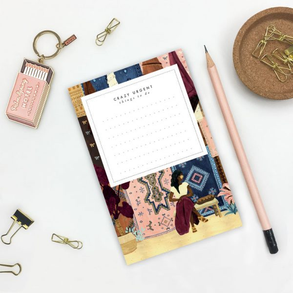 Travel Themed Notepad