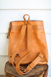 Travel Backpack - Camel