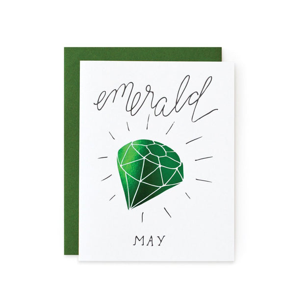 Gemstone Birthday Card