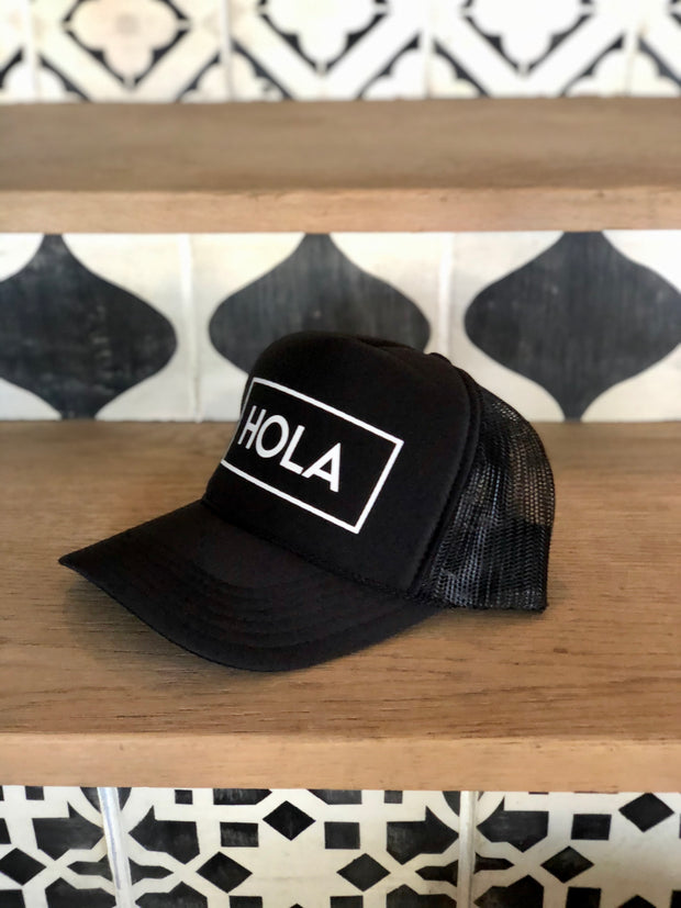 Exclusive Traveler HELLO Trucker Hat