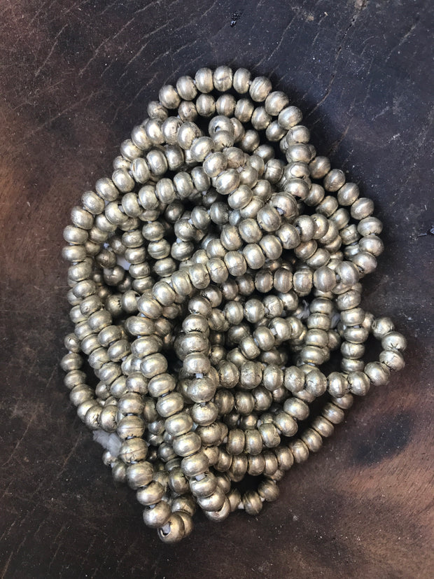 Ethiopian Metal Silver Beads - Passport Habits