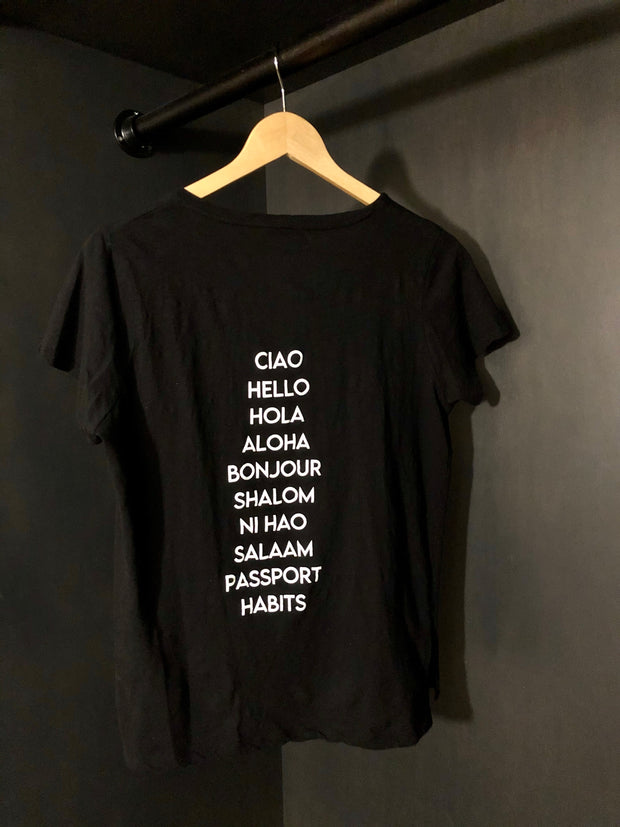 "Traveler ""Hello"" T Shirt EXCLUSIVE"