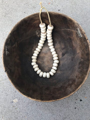 White Bone Beads Africa - Passport Habits