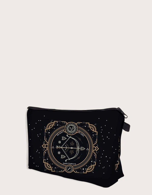 Astrology Makeup Clutch