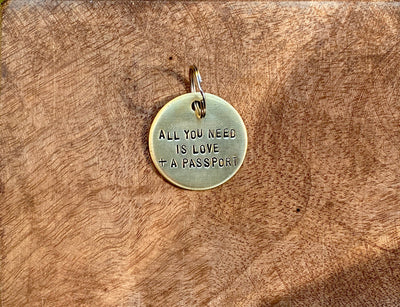 All you need is Love + a Passport tag
