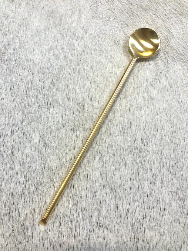 Brass Drink Stirrer