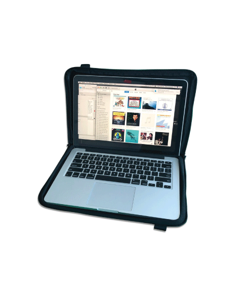 Scrubba air sleeve for laptop protection; and travel comfort