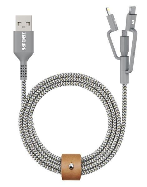 ZENDURE SuperCord: Durable USB Cable with 2 Years Warranty
